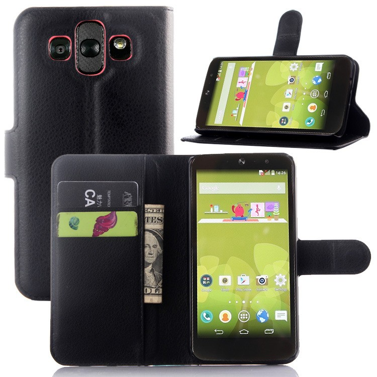 LA001 Manufatcurer Wholesale Flip Stand Leather Cell Phone Case Cover For LG AKA H778
