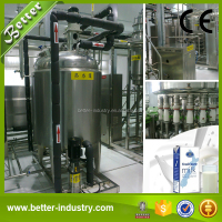 Stainless Steel Small Scale UHT Milk Processing Plant