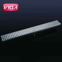 Rectangle stainless steel floor drain for lavatory/garden