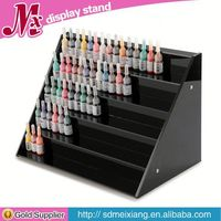 acrylic cupcake display shelf MX3170 kitchen supermarket retail table top 1 tier acrylic spice display rack