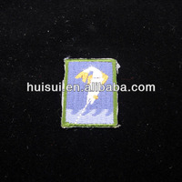high quality high end custom logo embroidered cross patches