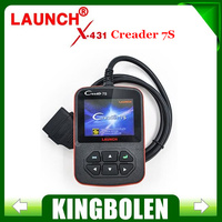 2015 New Arrival Original Launch X431 Creader VII Plus Code Reader +Oil Reset Function Creader 7S Update Via Official Website