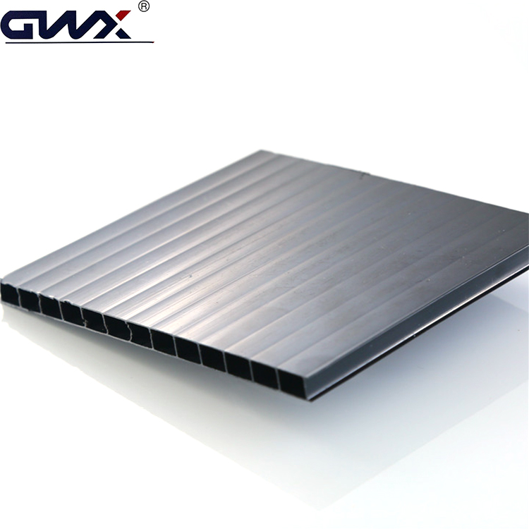 Both Flat And Curved Glazing Poly Carbonated Roofing Sheet
