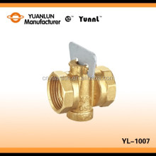 "Brass Ball Valve YL-1007 1"" For Gas , Water"