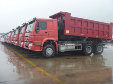 howo 6X4 dump truck much cheaper than used toyota dump truck