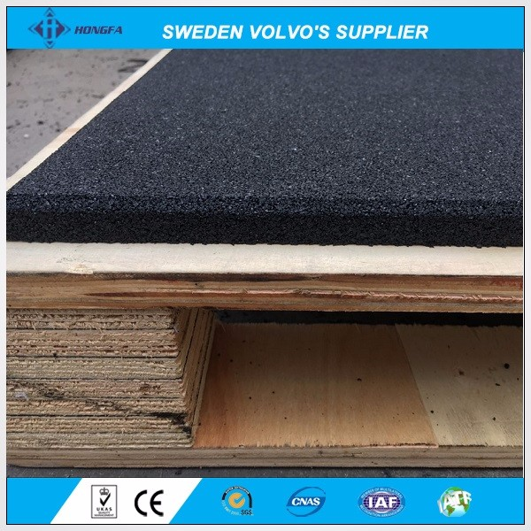 Crossfit Gym EPDM Rubber Flooring