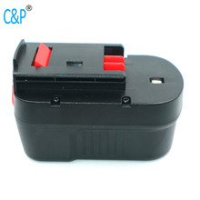 <strong>C</strong>&amp;P BD 14.4VB 1500mah NI-cd Ni-mh <strong>batteries</strong> pack BD1444L BD-1444L B-8316 BPT1048 HPB14 FS140BX BD146F3 replacement <strong>battery</strong> 14.4V
