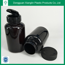 Pharmaceutical grade 300 ml black heart health product container plastic bottle making factory
