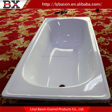 Hot Sale 2016 portable bathtub for adults enameled steel