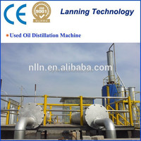 2015 the newest generation high capacity running well waste tyre oil plant