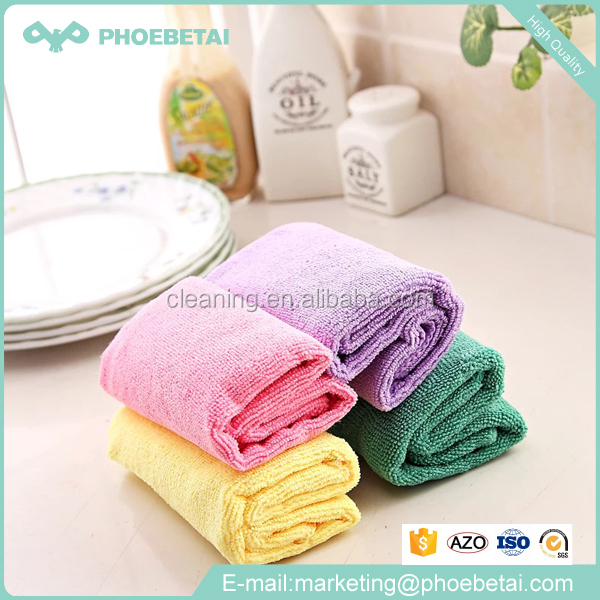 China made super kitchen cleaning cloth with private label