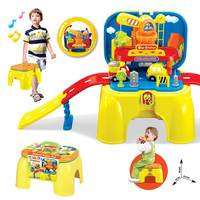 Educational toys rail engineering set wholesale kids plastic tool toy
