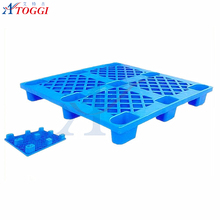 1200*1000*145mm single side HDPE material plastic pallet