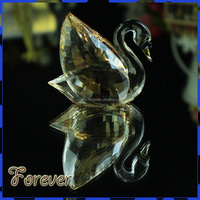 Crystal Wedding Favors Champagne Glass Single Swan on sale