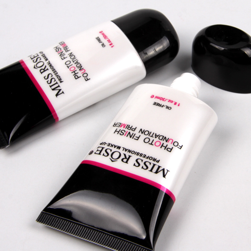 Wholesale miss rose tube installed 25ML best makeup foundation primer for oily skin