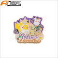 little glitter monster enamel lapel pin badges for Halloween Day