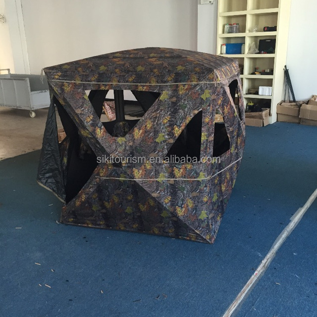 On sale 2-3 Person Camouflage Hunting Blind Ground Deer Archery Outhouse Camo Hunting Shooting Bowhunting Tent