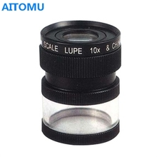 Magnifier Led Head Loupe Triplet Loupe 10x