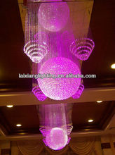 zhong shan factory Contemporary drop light led chandelier china