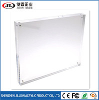 Manufacturer supplies clear acrylic photo block wholesale