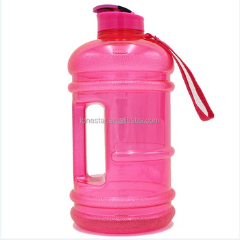 2017 Amazon wholesale BPA free 2.2l Hydrate Drinking petg Large Capacity Sports Water Bottle in AU