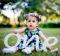 1st Birthday photo props wood sign ONE word one for photos