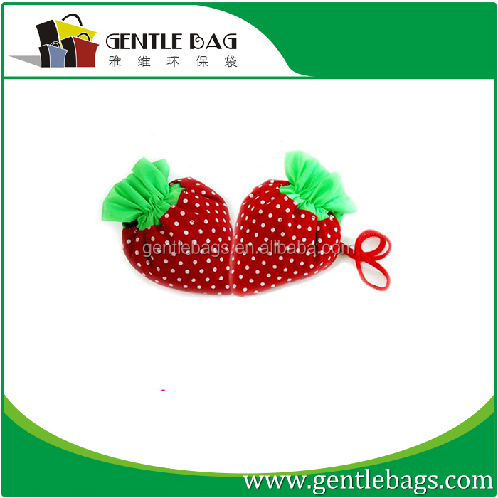 Ice Cream Shape Promotional Polyester Foldable tote bag