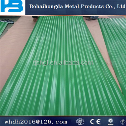 0.14-1.0mm thickness aluzinc. corrugated roofing sheets& color coated galvanized roof title