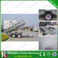 CE approved galvanised 6x4 small box trailers for sale
