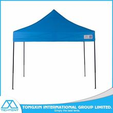 wind resistant pop up steel frame canopy folding tent 3x3m