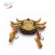 China fishing lure factory tackle supplier new design best sale professional freshwater artificial plastic crab custom