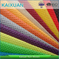 Colorful PP Spunbonded Nonwoven fabric/TNT in rolls, laminated woven pp bags for chemicals