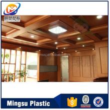 decorative gypsum pvc wall board ceiling decoration for office