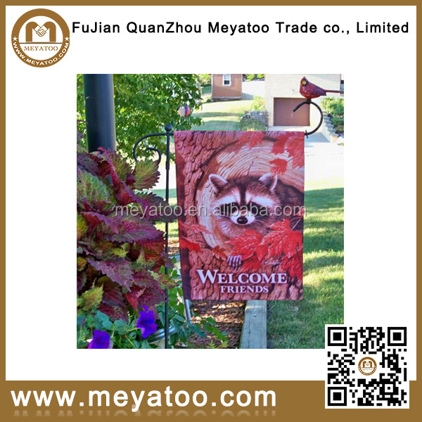 garden flag stands decoration for outdoor banner