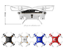 JDTOYS 2.4G Mini RC Drone Hexacopter 6 Axis Gyro RTF UAV 3D Roll G-Sensor Control Headless Helicopter FQ777-124