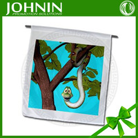 Custom blank white DIY cartoon hanging flags