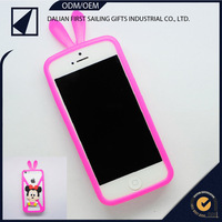 universal rubber cell phone case cartoon silicon mobile cover