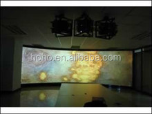 Multi-Language Sites Grandview HDTV 3D 4K Projection screen-Wireless Remote-Crystal Motorized scre