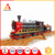 Best quality safety kids enlighten plastic bricks toy bullet train with track toy