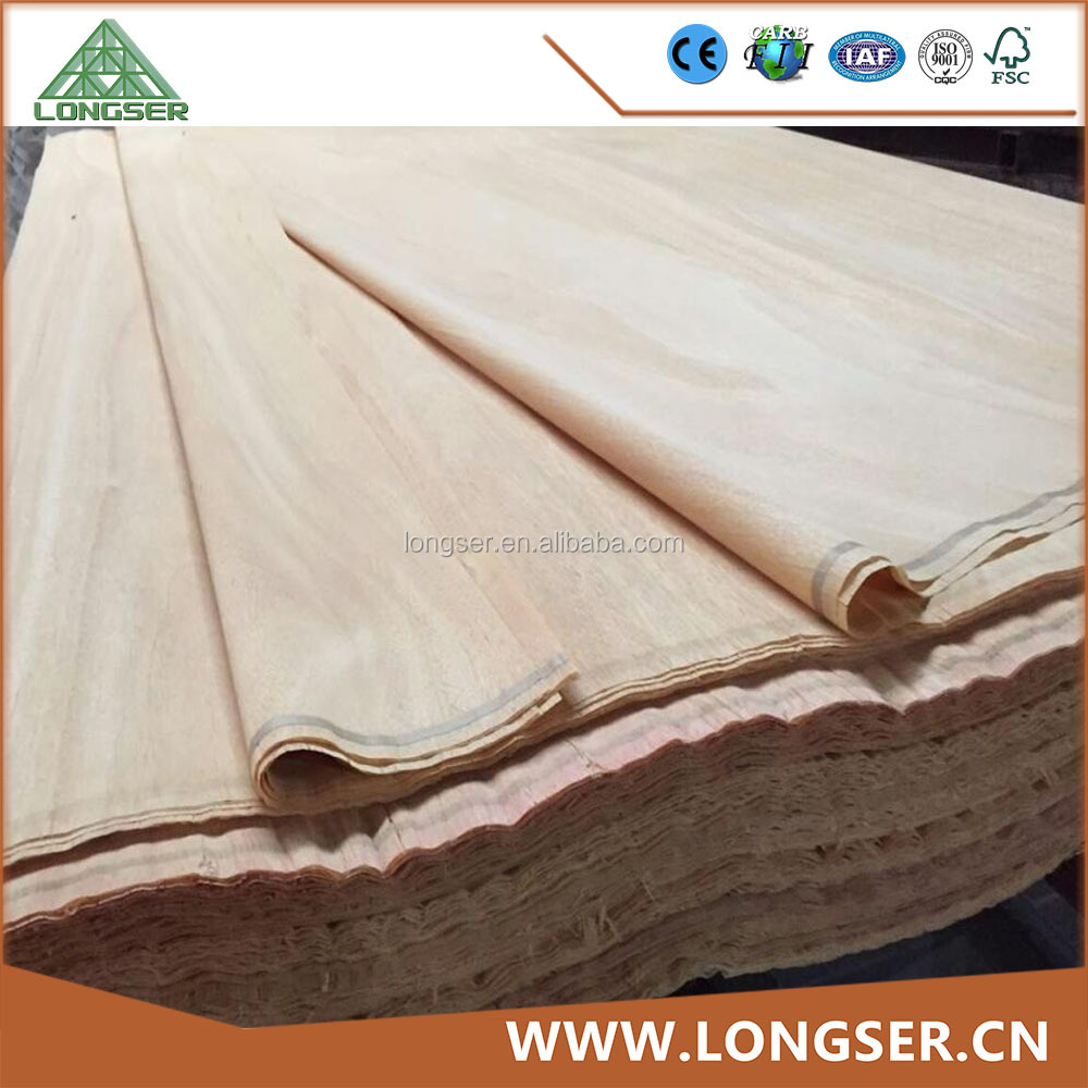 Africa Mersawa Wood Veneer for Face Plywood