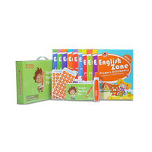 Recording pen and recordable stickers with series of English zone books 10 vols
