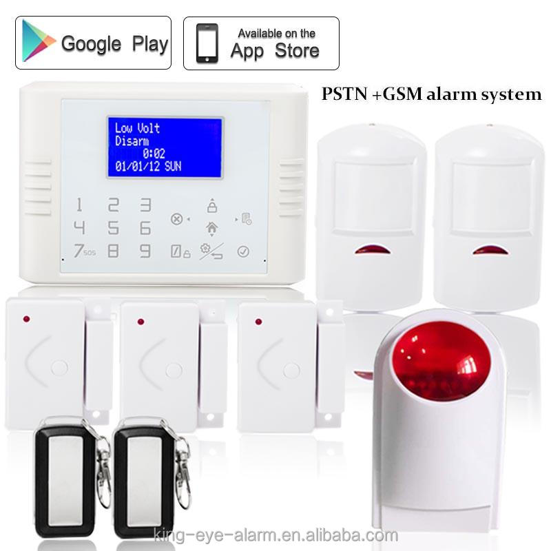 Relay supporting long range gsm frequency 850/900/1800/1900mhz wireless burglar alarm system