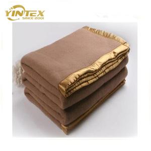 100% wool military blanket cheap hospital wool blankets shoddy blanket