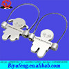 OEM&OEM good quality metal Jump rope couple silver alloy key chain