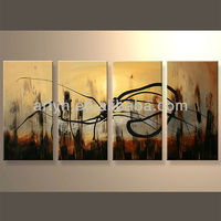 Newest Hand Fabric House Oil Painting Designs For Home Decor