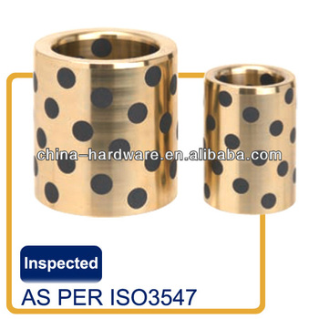 cast oilless bronze bush and wear plate as per sizes of Fibro / Strack / Sankyo / Misumi / Hasco