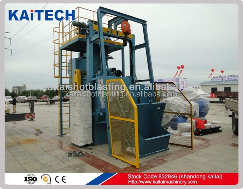 KAITA best sale :Q3210automatic sandblasting machine with CE STD
