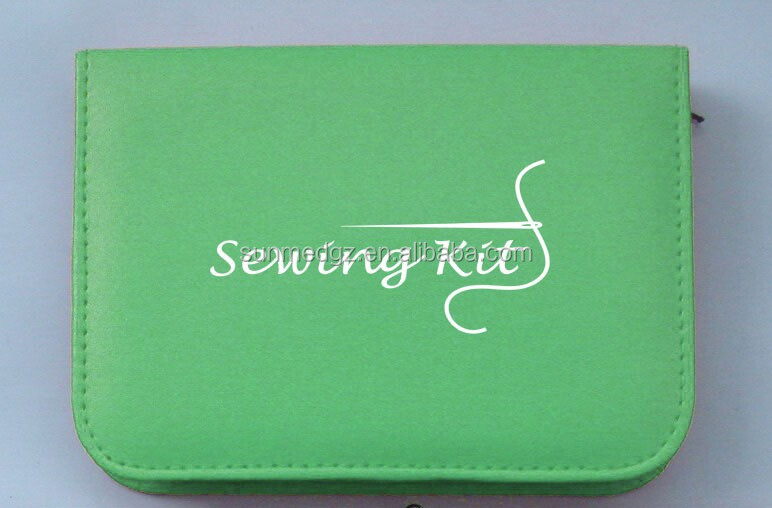 Simple PU or Nylon functional ,Combination of home mending tools and sewing kit