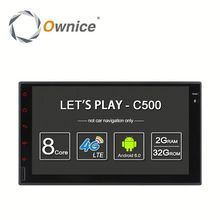 Ownice C500 8 Core Android 6.0 2G ram 32G ROM car video RADIO for 2 din universal Support OBD BAD TPMS 4G