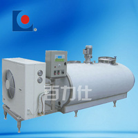 Stainless steel horizontal milk cooling tank (BLS)